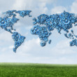 Global Cloud Technology — Stock Photo