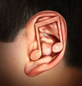 Ear For Music — Stock Photo