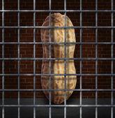Peanut Allergy — Stock Photo