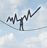 Balanced Investing — Stock Photo