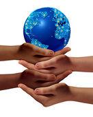 Global Education Community — Stock Photo
