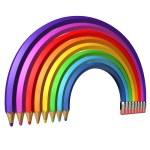 Barva tužka duhová — Stock fotografie #41940141