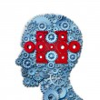 Stock Photo: Psychology Puzzle Head
