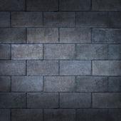 Betonnen blok muur — Stockfoto