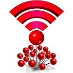 Wifi Wireless Location — Stock Photo