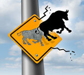 Bull Market Rise — Stock Photo