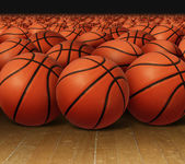 Basketball Group — Stock Photo
