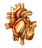 Dangerous Heart Diet — Stockfoto