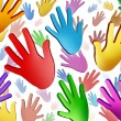 Volunteer Hands — Stock Photo