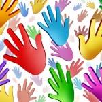 Volunteer Hands — Stock Photo