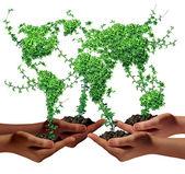Miljö gemenskapen — Stockfoto