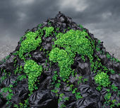 Global Garbage — Stock Photo
