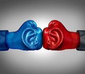 Listen To Your Competition — Stock Photo