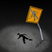 Traffic Accident Injury — Stock Photo