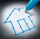Planning A Home — Stock Photo