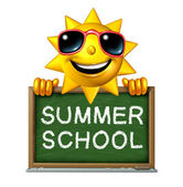 Summer School — Stock Photo