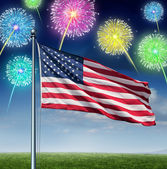 American Celebration — Stock Photo