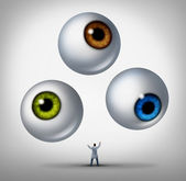 Optometrist Concept — Stock Photo