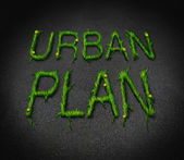 Urban Plan — Stock Photo