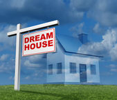Dream House Concept — Foto Stock