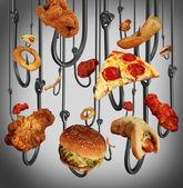 Eating Addiction — Stock Photo