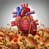 Ryzyko chorób serca — Zdjęcie stockowe