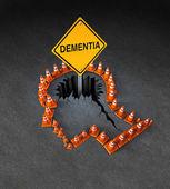 Dementia Handicap — Stock Photo