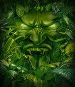 Jungle Fear — Stock Photo