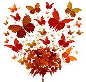 Höstens träd koncept — Stockfoto