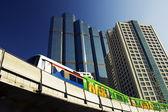 Bts skytrain — Foto de Stock