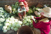 Kalaw market, Myanmar — Stock Photo