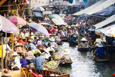 Damnoen Saduak Floating Market — Stock Photo