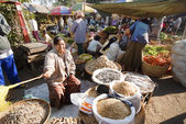 Nyaung-U Market, Myanmar — Stock Photo