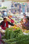 Market in Kalaw, Myanmar — Stock Photo