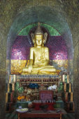 Buddha image at Thale Oo Monastery — Photo