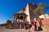 Mehrangarh Fort in Jodhpur, India — Stock Photo