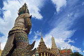 The Temple of Emerald Buddha — Stock Photo