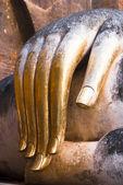 Mão dourada de phra ajana — Fotografia Stock