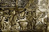 Ornate bas-reliefs — ストック写真