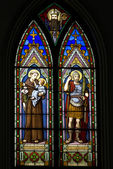 Stained glass window — Photo