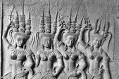 Apsara, Angkor Wat — Stock Photo