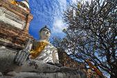 Wat yai chai mongkol — Zdjęcie stockowe