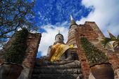 Wat Yai Chai Mongkol — Stock Photo