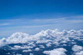 Waves of clouds — Stock Photo