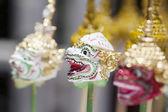 Khon masks — Stock Photo