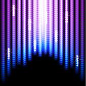 Fond de lumières — Vecteur