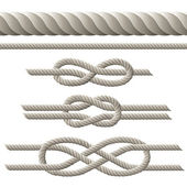 Rope set — Stock Vector