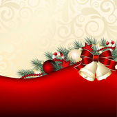 Christmas background — Stock Vector