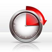 Zegar zegar — Wektor stockowy