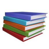 Stapel boeken — Stockvector